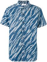 Les Benjamins printed short sleeve shirt