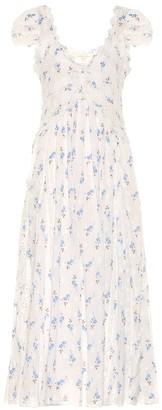LoveShackFancy Archer floral cotton dress