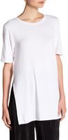 BCBGeneration Side Slit Knit Tee