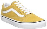 Vans Old Skool Trainers Yolk Yellow True White
