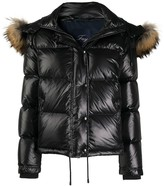 Thumbnail for your product : Fay Faux-Fur Hood Padded Jacket