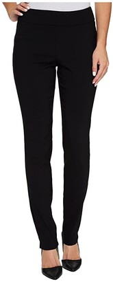 Krazy Larry Pull-On Skinny Pants (Black) Women's Casual Pants