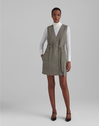 Club Monaco Sleeveless Faux Wrap Dress