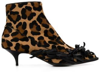 No.21 Leopard Booties