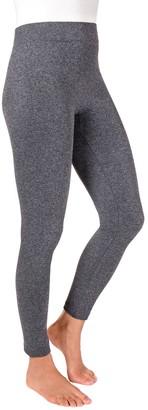 Muk Luks Women's Marl Fleece-Lined Leggings