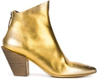 Marsèll Metallic Pointed Toe Boots