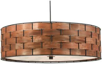 Kenroy 3-Light Woven Pendant