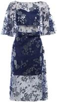 Sarvin Doutzen Embroidered Lace Co-ord Midi Dress
