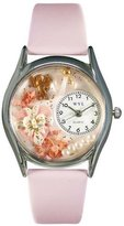Whimsical Watches Women's S1220013 Valentine's Day Pink Leather Watch