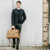 Scaramanga The Carter Leather Briefcase