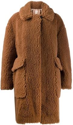 No.21 faux-shearling teddy coat