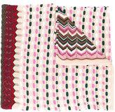 Missoni multi-pattern knitted scarf - women - Cotton/Viscose - One Size