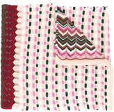 Missoni multi-pattern knitted scarf