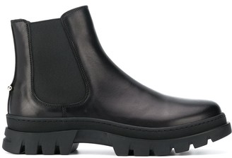 Neil Barrett Calf Leather Slip-On Boots