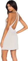 Lanston V Back Halter Dress