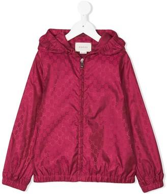 Gucci Kids GG Supreme rain jacket