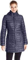 32Degrees Weatherproof Women's Mid Length Packable Down Jacket