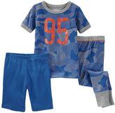 Osh Kosh Baby Boy Camouflage Pajama Set