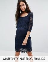 Mama Licious Mama.licious Nursing Lace Dress