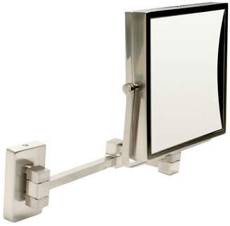 Alfi brand Square Wall Mounted 5x Magnify Cosmetic Mirror Bedding