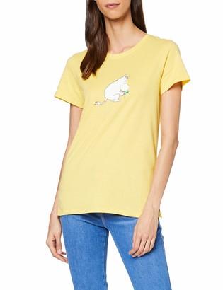 People Tree Peopletree Women's Moomin Leaf Print Tee T-Shirt