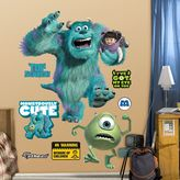 Fathead Disney / Pixar Monsters, Inc. Wall Decals by
