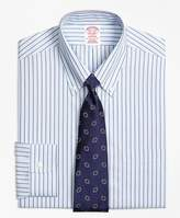 Brooks Brothers Non-Iron Madison Fit Triple Stripe Dress Shirt