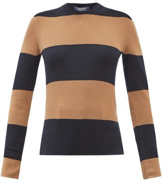 S Max Mara Andina Sweater - Navy Multi
