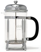 La Cafetiere Classic 12-Cup Cafetiere Coffee Maker French Press, Chrome