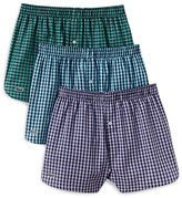 Lacoste Cotton Gingham Boxers - Pack of 3