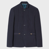 Paul Smith Men's Slim-Fit Navy Down-Filled Tailored Jacket