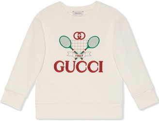 Gucci Kids Tennis sweatshirt