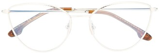 Victoria Beckham Cat-Eye Frame Clear Lens Sunglasses