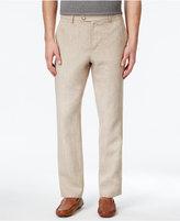 Tasso Elba Men's Linen Chambray Pants, Only at Macy's
