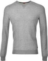BOSS ORANGE HUGO Kawanan Jumper Grey