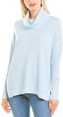 Forte Cashmere Easy Rib Cashmere-Blend Sweater