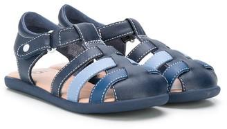 UGG Colour Block Closed Toe Sandals