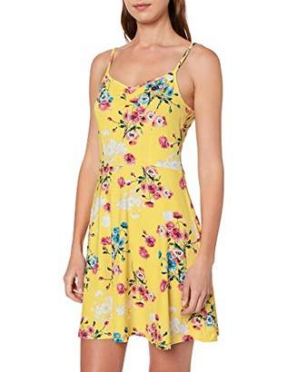 Joe Browns Women's Bright Floral Cami Summer Dress, Yellow (Lemon Multi (Size:UK )