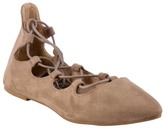 Hot Kiss Taupe Lily Ballet Flat