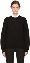 Givenchy Black Stars Crewneck Sweater
