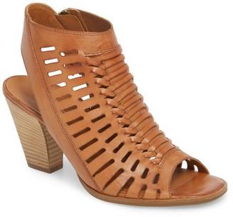 Paul Green Rosa Woven Peep Toe Sandal (Women)
