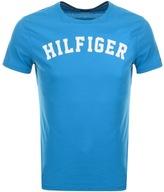 Tommy Hilfiger Logo T Shirt Blue