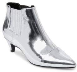 Design Lab Trina Patent Ankle Booties