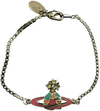 Vivienne Westwood Pink Metal Bracelets