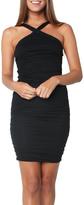 Velvet Carmeline Black Dress