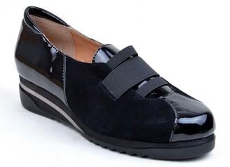 Bettye Muller Concepts Taytum Leather Wedge Sneaker