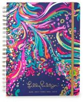 Lilly Pulitzer Beach Loot 17-Month Large Daily Agenda