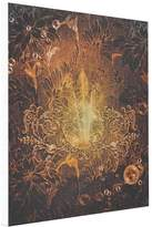 JakieQ Printed Canvas Abstract Awesome vintage design with floral elements