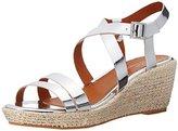 Polo Ralph Lauren Sabrina SLV Specch Metlc Fashion Wedge Sandal (Little Kid/Big Kid)
