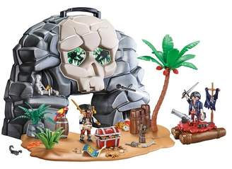 Playmobil Take Along Pirate Skull Island
